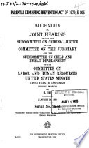 Parental kidnaping prevention act of 1979  S  105 Book