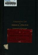 Co  perative List of Periodical Literature  in California Libraries
