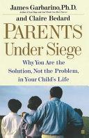 Pdf Parents Under Siege