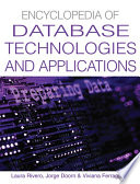 Encyclopedia Of Database Technologies And Applications Book PDF