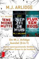 De M J Arlidge Bundel 3 In 1