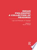 Indian Philosophy: Logic and philosophy of language