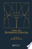 Using the Mathematics Literature