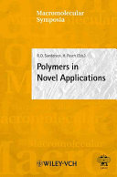 Polymers In Novel Applications Book PDF