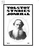 Tolstoy Studies Journal