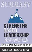 Summary  Strengths Based Leaderships Book