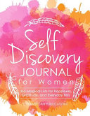 Self Discovery Journal for Women