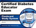 Certified Diabetes Educator Exam Flashcard Study System