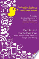 Gender and Public Relations Book