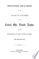 Annual Report of the Board of Trustees Book