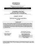 Strategic Assessment of Near Coastal Waters