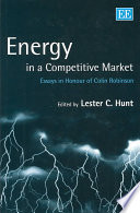 Energy In A Competitive Market Book PDF