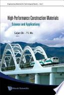 High performance Construction Materials Book
