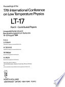 Proceedings of the 17th International Conference on Low Temperature Physics, LT-17