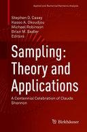 Sampling  Theory and Applications