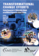 Transformational Change Efforts  Student Engagement in Mathematics through an Institutional Network for Active Learning