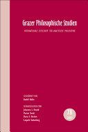 Grazer Philosophische Studien