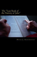 The Lost Book of the Nativity of John