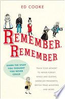 Remember Remember Book PDF