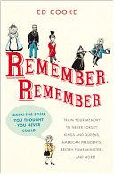 Remember, Remember Pdf/ePub eBook