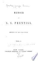 A Memoir of S.S. Prentiss