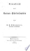 Grundriss der Natur-Philosophie