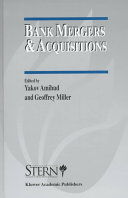 Bank Mergers & Acquisitions ebook