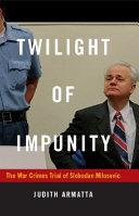 Twilight of Impunity Pdf/ePub eBook