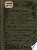 Shakespeare's A midsummer-night's dream, Midsummer night's dream