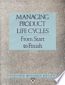 Managing product life cycles