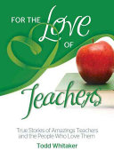 For the Love of Teachers Book