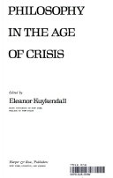 Philosophy in the age of Crisis