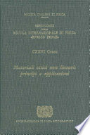 Nonlinear Optical Materials Principles And Applications