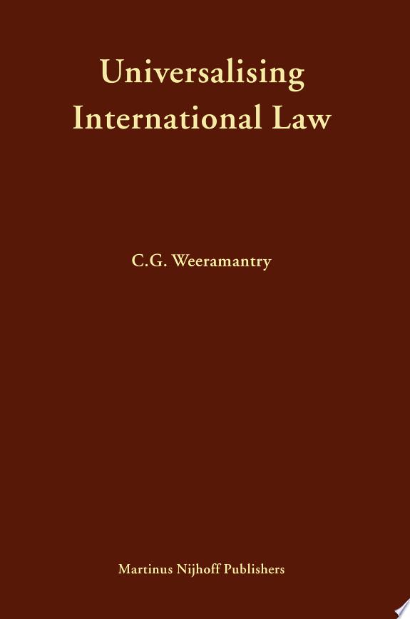 Universalising International Law