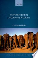 State Succession In Cultural Property