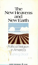 The New Heavens and New Earth