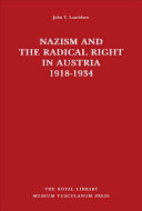 Nazism and the Radical Right in Austria, 1918-1934