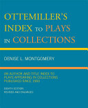 Ottemiller's Index to Plays in Collections Pdf/ePub eBook