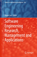 Software Engineering Research, Management and Applications Pdf/ePub eBook
