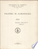Paupers in Almshouses 1910