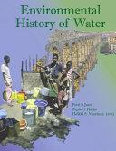 Pdf Environmental History of Water