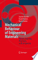 Mechanical Behaviour Of Engineering Materials Book PDF
