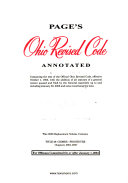 Page s Ohio Revised Code Annotated
