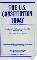 The U.S. Constitution Today