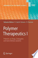 Polymer Therapeutics I Book PDF
