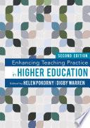 Enhancing Teaching Practice in Higher Education Book