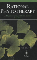 Pdf Rational Phytotherapy Telecharger