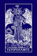XIV Temperance  Tarot Card Journal  6 X 9 Inch Matte Softcover Paperback Notebook with 120 Blank Lined Pages