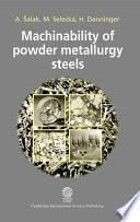 Machinability of Powder Metallurgy Steels