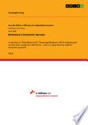 Botswana S Economic Success Book
